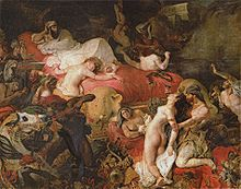 Death of Sardanapalus (1827), Louvre